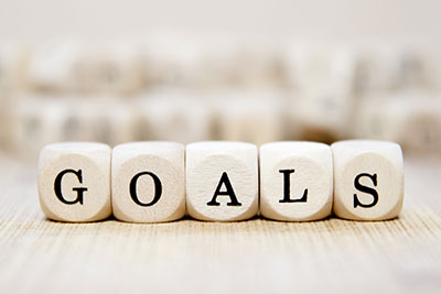 writing my goals