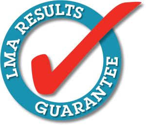 LMA Results Guarantee Stamp