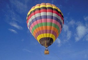 The lost balloonist