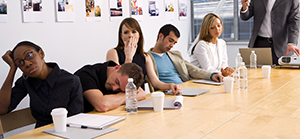 Banish meeting boredom | LMA